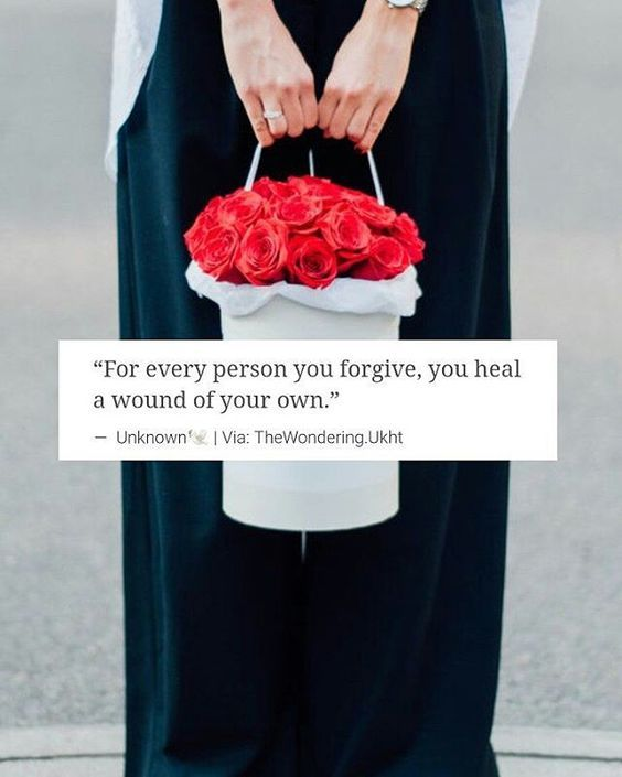 Forgiveness must be found in all our hearts. Seek it and give it. #forgive
