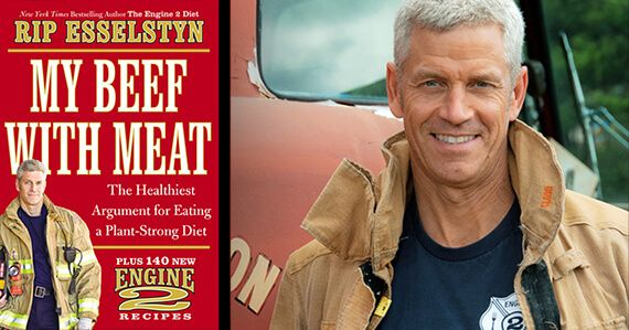 Rip Esselstyn, the former firefighter featured in Forks Over Knives and bestselling author of The Engine 2 Diet, has written a new book, My Beef with Meat. The book arrives in stores on May 14. We had a chance to...  Read more