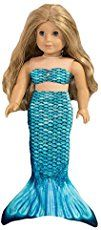 DIY American Girl Doll Mermaid Tail Costume Halloween will be here before you know it and we always need a few extra costumes. I feel like this has been the year of mermaids and unicorns so why not add fuel to that fire with some fun mermaid costumes? These are so cute and simple to. …