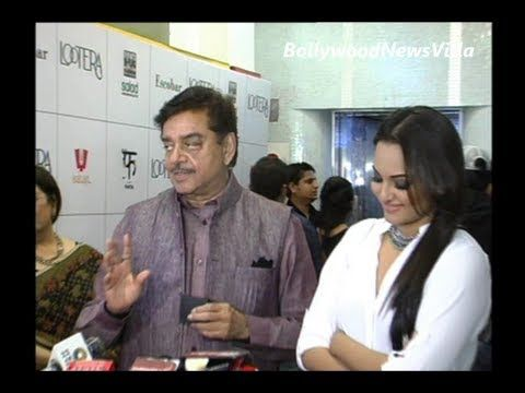 Shatrughan Sinha - east or west, Sonakshi is the best.