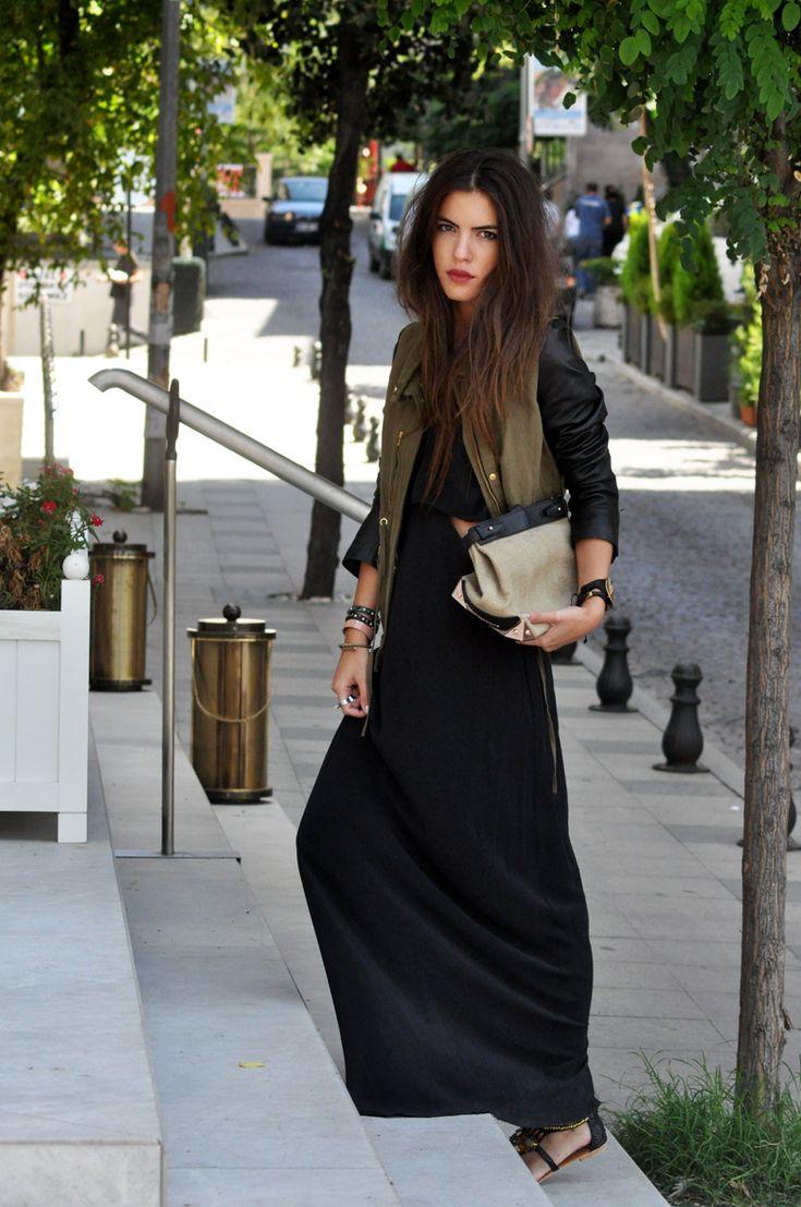 Fall: Maxi Dresses, Broke Girls, Clothing Shoes Bags Sunglasses, Fashion Wear, Autumn Style, Black Maxi, Black Skirts, Girls Style, Dresses Maxi