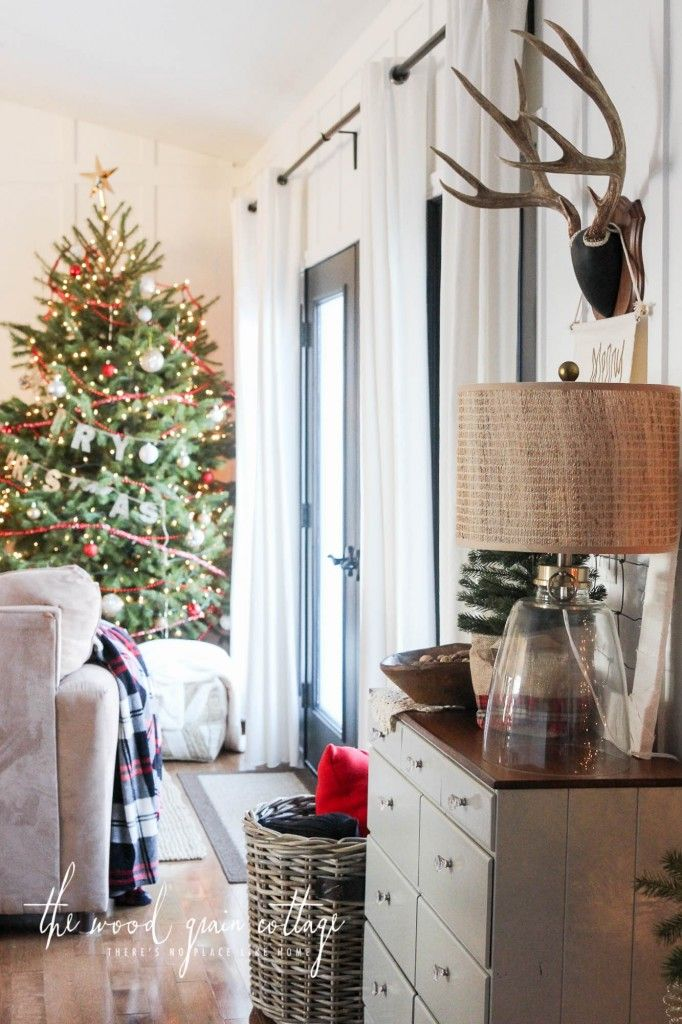 Home Tour 2015 On Pinterest Christmas Trees Christmas Decor And