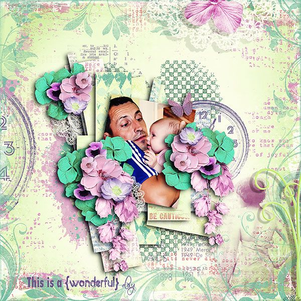 For a Better Life by ManueDesigns Scrap template November freebie by Tinci Designs