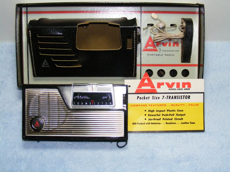 All sizes | Arvin Model-60 R 49 | Flickr - Photo Sharing!