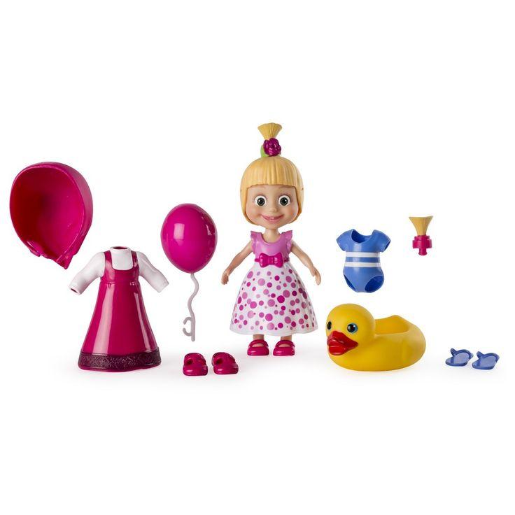 Masha and the Bear - Snap 'N Fashion 1 - Masha Doll,