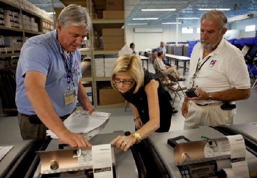 NC Romney Voter: Machine Recorded Vote For Obama, Twice. Scary!  ~~HUMMMMM WONDER HOW THAT HAPPENED.  This office is corrupt.  It can be no coinky dink that a vote for one guy turns into two votes for the other guy.  Someone made that happen.