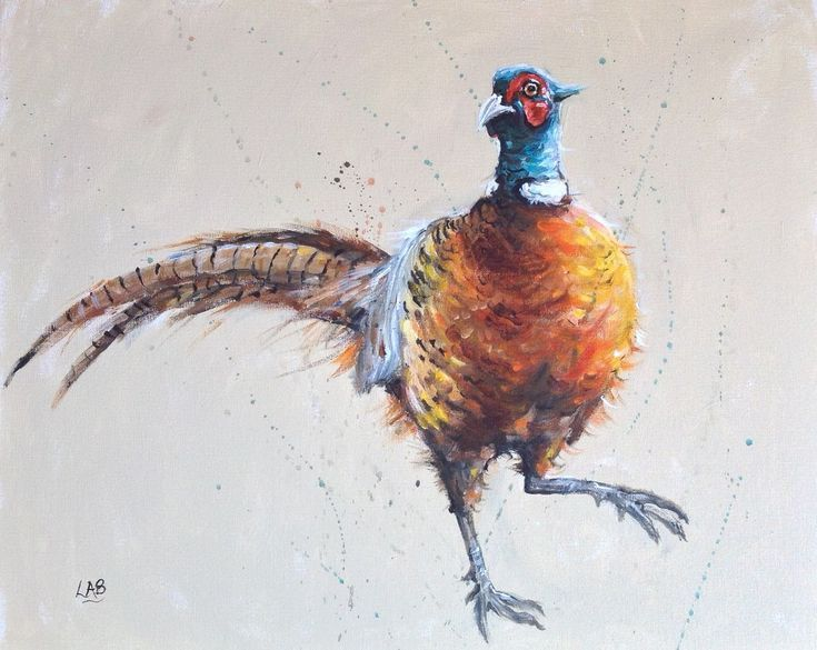 Buy Fowl move, Acrylic painting by Louise Brown on Artfinder. Discover thousands of other original paintings, prints, sculptures and photography from independent artists.