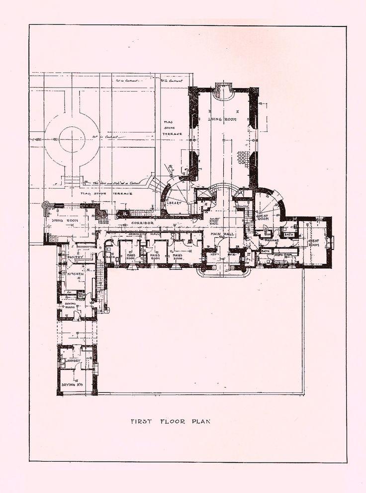 Floorplan Old Pickfair Mooie Huizen Pinterest