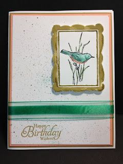 A Simply Sketched Birthday Card Stampin' Up! Rubber Stamping Handmade Cards