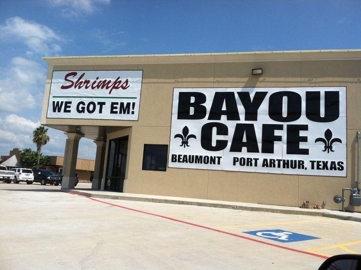 Bayou Cafe Port Arthur Texas Menu
