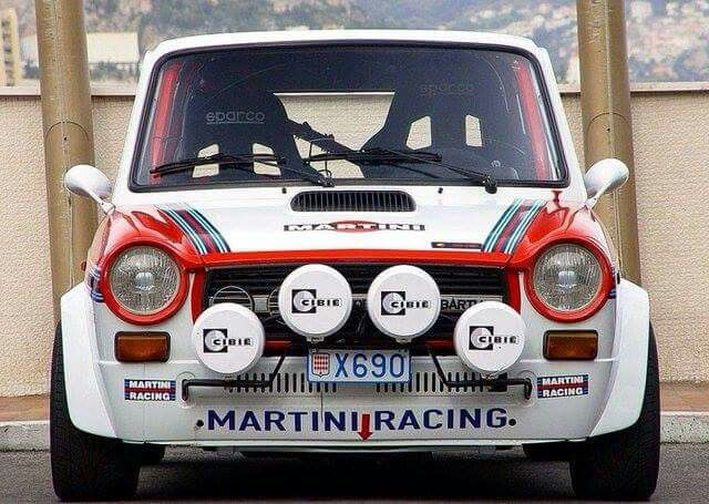 Autobianchi A112 Abarth, rally version