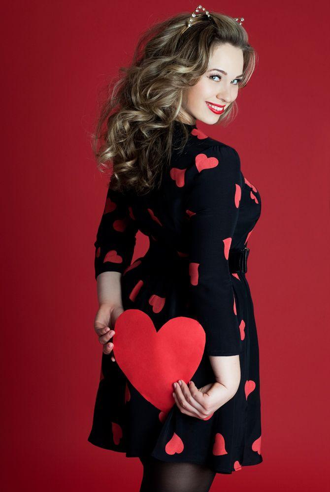 Happy Valentine's Day from TruthandFashion.com, Model Marina Bulatkina of MSA Models, and photographer Victoria Janashvili!