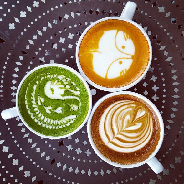 Urth Caffe is an organic, heirloom coffee company and cafe in Los Angeles