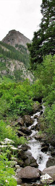 Stream near Maroon Lake, Colorado