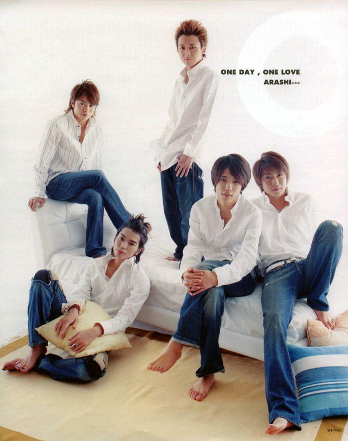 Arashi : Wink up 2005 ONE DAY, ONE LOVE