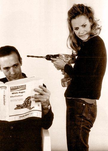 Siblings David and Amy Sedaris