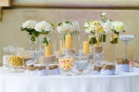 yellow lolly buffet