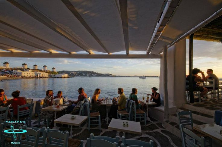 The perfect Sunset view @Veranda Bar