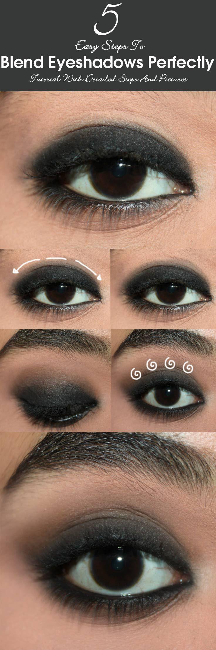 25+ best ideas about Blending eyeshadow on Pinterest | Simple ...