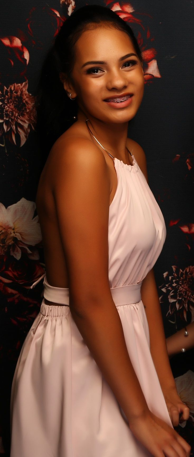 Auckland Girls Grammar Ball 2016. Adore the neckline of this gown! www.whitedoor.co.nz