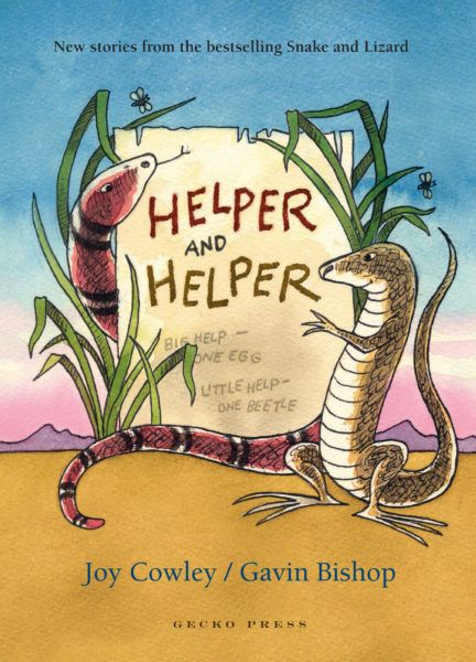 Helper and Helper by Gecko Press cover
