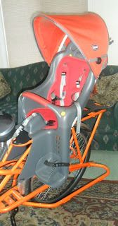 You Ain't Got Jack: D.I.Y. Child's Bike Seat Weather Protector