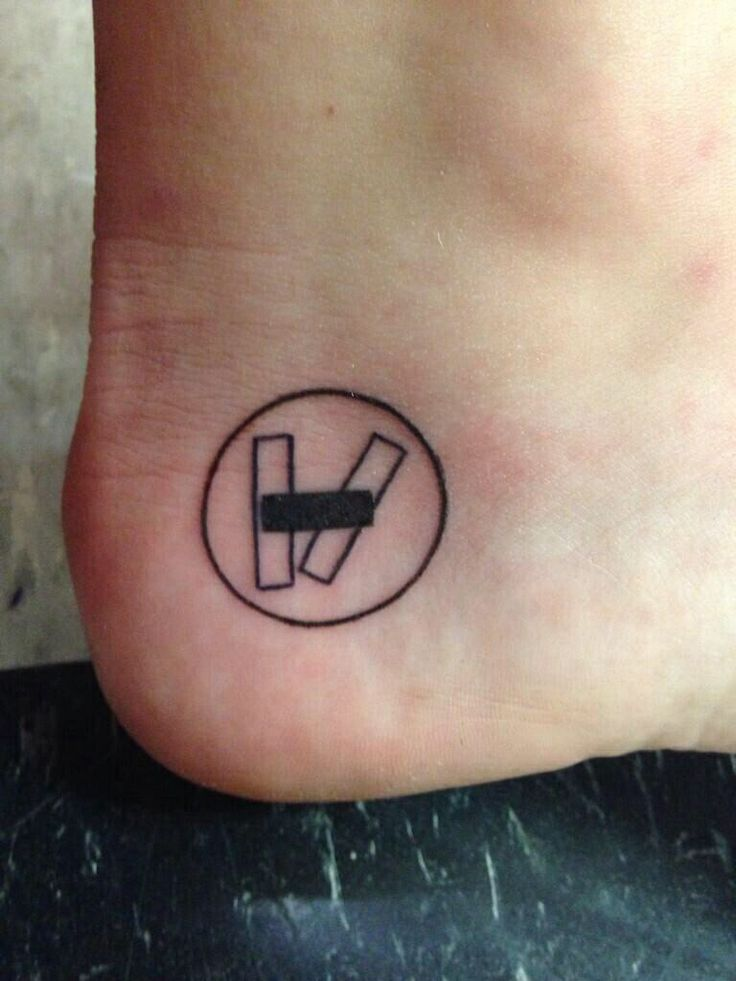 Twenty one pilot tattoo