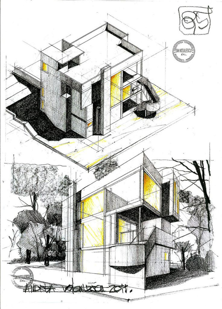 Architectural Drawings Of Modern Houses 979 best architectural drawing images on pinterest | architecture