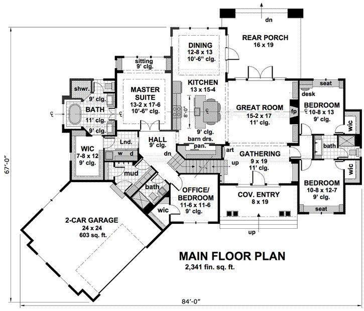 466 Best House Plan Idead Images On Pinterest Dream House Plans House Floor Plans And Master