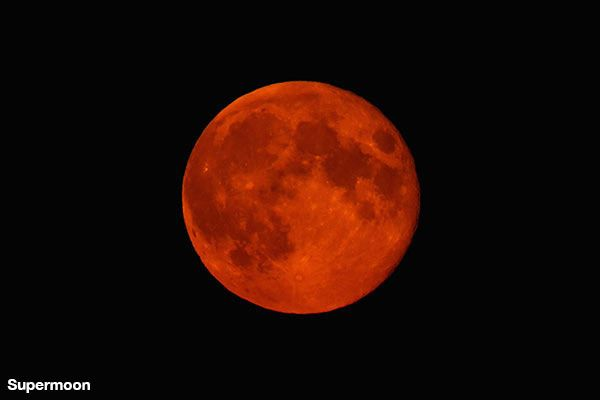 It's a once in a lifetime phenomenon that you must see to believe! For the first time in three decades, a supermoon will coincide with a lunar eclipse, causing a total lunar eclipse at the moon. You can watch the whole, breathtaking event here!