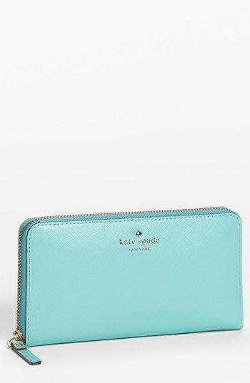 kate spade new york 'mikas pond - lacey' zip around wallet | Nordstrom