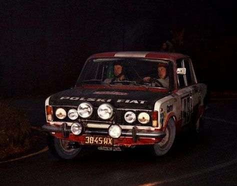 Sezon -1975 - Polski Fiat 125p
