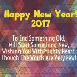 Happy New Year Facebook Status 2017