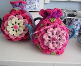 Irish Rose Tea Cosy Justjen-knits: Tea and Me - Capturing Queensland's Tea Related Memories