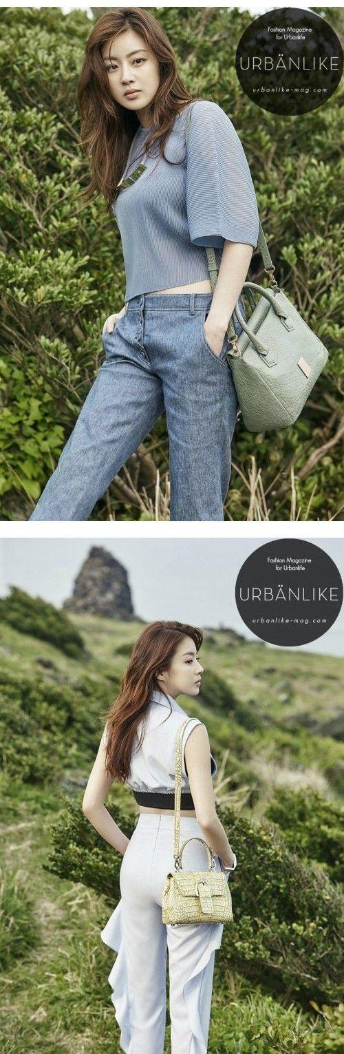 Kang So Ra is classy outdoors for 'Urbanlike' | http://www.allkpop.com/article/2015/06/kang-so-ra-is-classy-outdoors-for-urbanlike