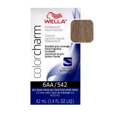 Wella Color Charm Dark Blonde Intense Ash 6aa 542 1 4 Oz