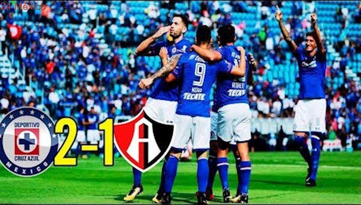Cruz Azul vs Atlas 2-1 Goles y Resumen Liga MX Jornada 5 Apertura 2017 HD