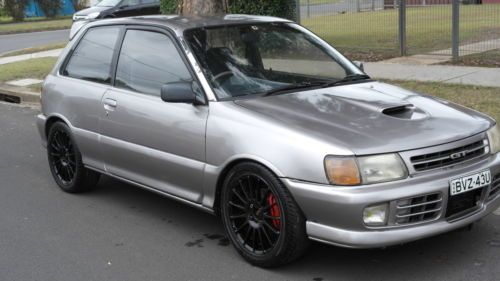 1990 TOYOTA STARLET GT TURBO EP82 MANUAL HATCH EMS FRONT MOUNT CHEAP BARGAIN SYD Link : http://www.ebay.com.au/itm/1990-TOYOTA-STARLET-GT-TURBO-EP82-MANUAL-HATCH-EMS-FRONT-MOUNT-CHEAP-BARGAIN-SYD-/111281750248?pt=AU_Cars
