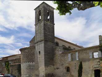 Richerenches-église