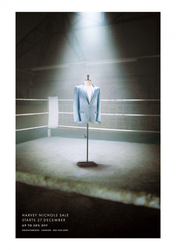 Harvey Nichols: Blue jacket