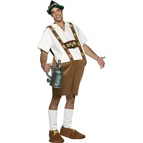 Our Funny Adult Lederhosen Costume is a great German Costume for Men. For other German costume ideas consider any of our Lederhosen Costumes for any age.