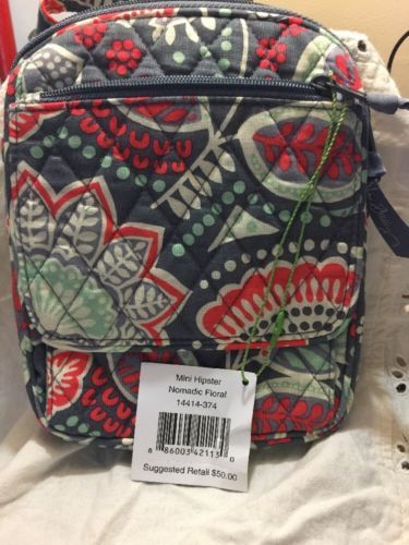 982a9c449ba Vera Bradley Mini Hipster Crossbody Nomadic Floral New With Tags ...