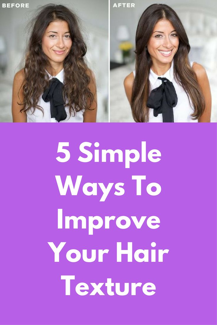 5 Simple Ways To Improve Your Hair Texture Frizzy hair is definitely something that a lot of us struggle with and frizz in our hair is mostly caused by a lack of moisture in our hair. Some of the most common reasons for frizzy hair in women include extreme humidity in the environment, nutritional deficiency, dehydration, chlorinated water usage for washing hair, usage of blow …