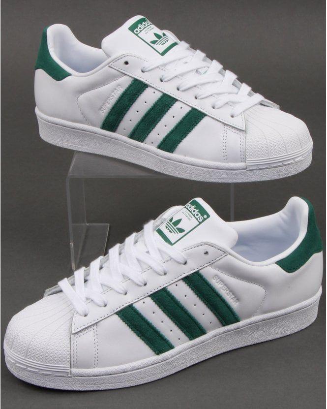 adidas shoes superstar green