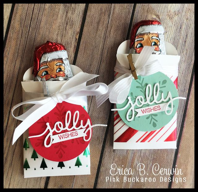 Best ideas about christmas treat bags on pinterest