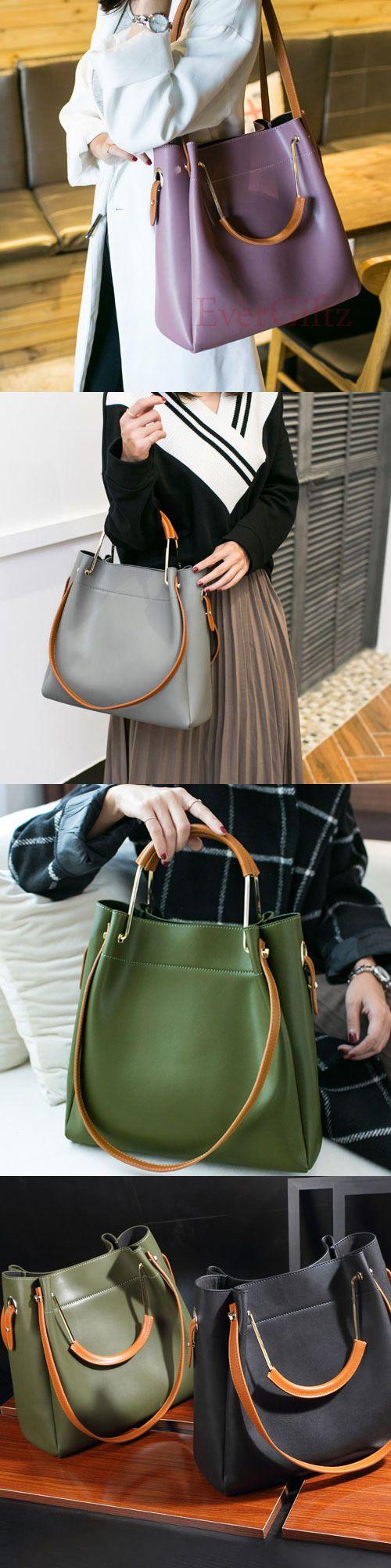 Genuine leather vintage women handbag shoulder bag crossbody bag tote bag