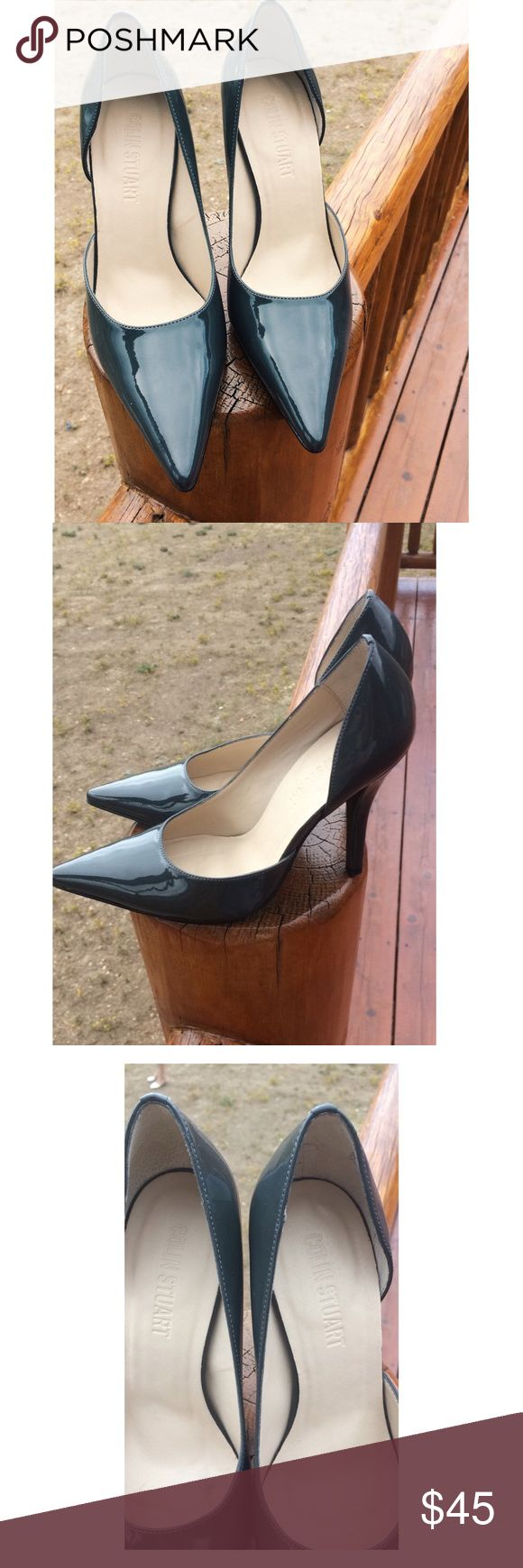 Colin Stuart dark gray work pumps Colin Stuart dark gray work pumps. Size 7.5. Great condition!! Colin Stuart Shoes Heels