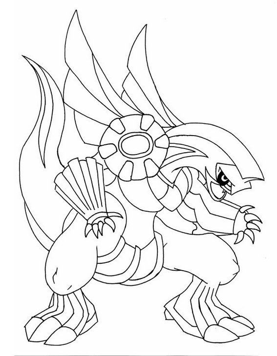 Top Palkia Pokemon Coloring Page Animasi