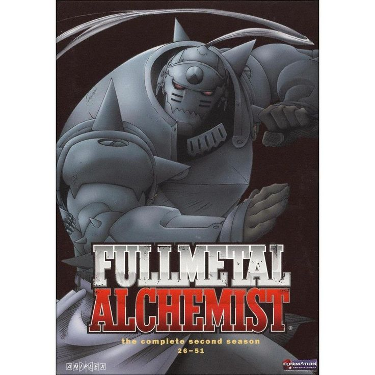 Fullmetal Alchemist: Season 2 (4 Discs) (dvd_video)