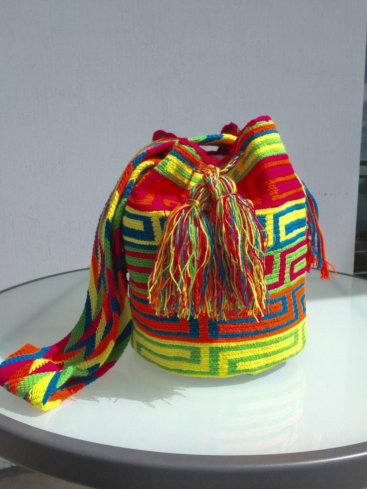 A personal favorite from my Etsy shop https://www.etsy.com/listing/448740566/wayuu-bags-wayuu-mochila-bags-colombian